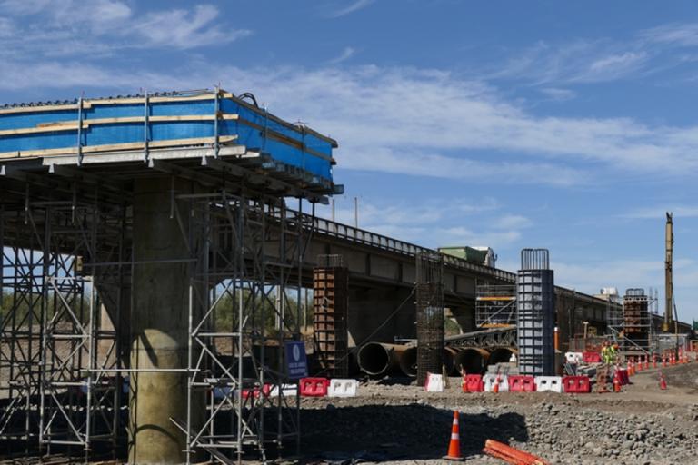 Construcción de Mejoramiento Ruta Nahuelbuta sigue avanzando en la región de La Araucanía y Biobío